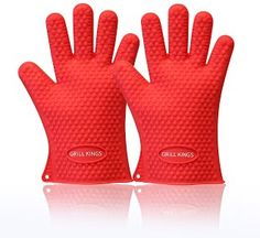 <REVIEW> Barbecue Gloves - Heat Resistant for Cooking - High Quality Waterproof Silicone Oven Glove - Better Than Ove Glove - Double Glove Pack Set of Two - No More Burns - Great for Baking, Grilling and Frying - Perfect Grill Tool and Gift - Resists Heat up to 500 Degrees - Doubles As Pot Holder - Money Back Guarantee