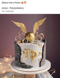 Harry Potter Desserts, Bolo Harry Potter, Gateau Harry Potter, Harry Potter Thema, Harry Potter Food, Harry Potter Pictures, Harry Potter Motto Party, Harry Potter Birthday Cake, Cute Birthday Cakes