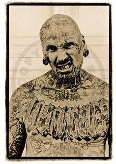 LA Gang member by Ross Halfin