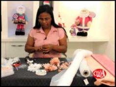 Eliana Donato ensina fazer flor de cabelo com organsa e ceitin. - YouTube