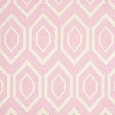 Safavieh Dhurries Pink/Ivory 6 ft. x 9 ft. Area Rug-DHU556C-6 - The Home Depot