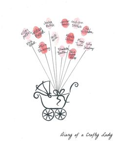 Diary of a Crafty Lady: Throwing a Baby Shower