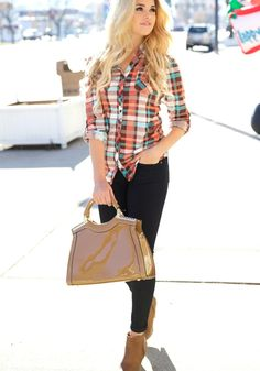 All about plaid this season! So comfy and adorable!