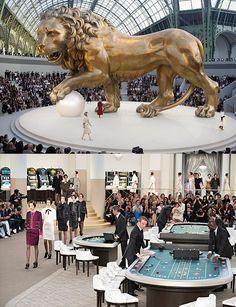 Les décors les plus spectaculaires des défilés Chanel