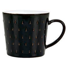 Denby Jet Black Cascade Mug