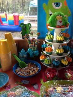 """Photo 2 of 43: Little Monsters / Birthday """"Pryce's 2nd Monster Bash"""" 