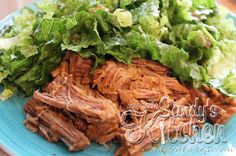 Sandys Kitchen: Two Packet Beef Roast from the Slow Cooker