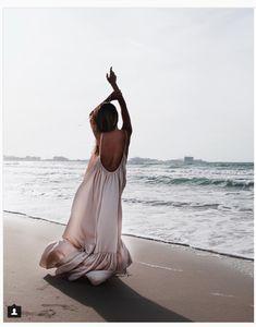 Dreamy Summer Dress #openback #summer #beach #maxidress