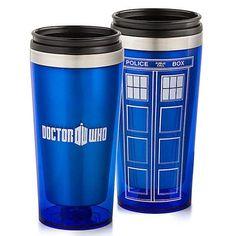 Doctor Who TARDIS Travel Mug-GoAmiroo Store