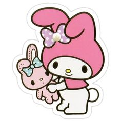 My Molly Sticker Cartoon Stickers, Kawaii Stickers, Cat Stickers, Printable Stickers, Hello Kitty My Melody, Hello Kitty Cake, Png Transparent, Transparent Stickers, Little Twin Stars