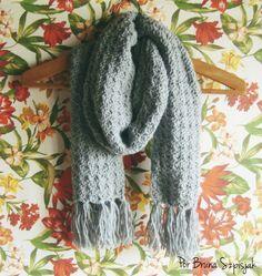 Aprendiz de Crocheteiras: Aqueça suas Vendas confeccionando Cachecol de Crochê…