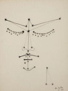 Jean Cocteau, Orphée Aux Yeux Perlés (Orpheus With Pearl Eyes), 1950