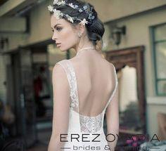 #style : Zoe #Backdetails Erez Ovadia Brides & Evening www.erezovadia.com  #weddingdresses