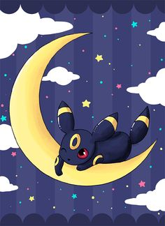 Umbreon by LVStarlitSky on @DeviantArt