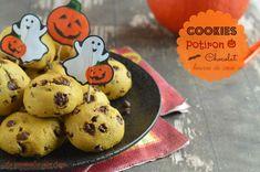 Cookies au potiron, chocolat