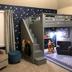 awesome bedrooms * awesome bedrooms + awesome inventions + awesome life hacks + awesome sauce chicken + awesome wallpapers + awesome + awesome beards + awesome tattoos Boys Loft Beds, Loft Beds For Small Rooms, Queen Loft Beds, Loft Beds For Teens, Kid Beds, Cool Beds For Boys, Loft Bunk Beds, Bedroom Loft, Bedroom Decor