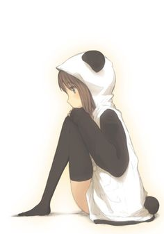 PANDA PERSON!!!! I love pandas for no reason they r just so nice and hug able. Like my neko! And for thoughs of u who dont know what neko means it means cat in japanese.