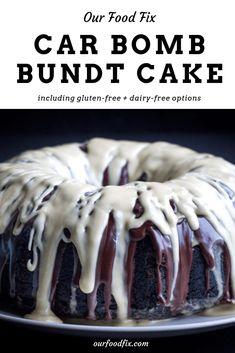 St Patrick's Day Dessert: Irish Car Bomb Bundt Cake - Our Food Fix