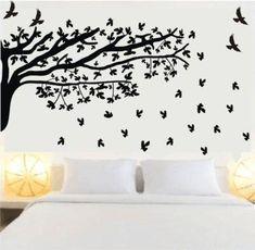 3a3ac909c adesivo de parede de árvore preta