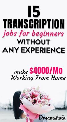 15 transcription jobs for beginners without any experience. Ways To Earn Money, Earn Money From Home, Earn Money Online, Way To Make Money, Online Income, Transcription Jobs From Home, Transcription Jobs For Beginners, Legit Work From Home, Work From Home Jobs
