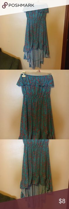 Dress  Dress size small/ will fit a medium  Dresses High Low