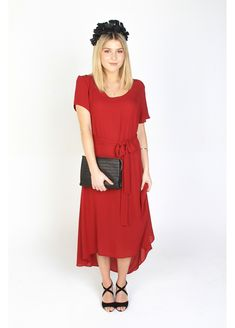 RW Plum Maxi made in New Zealand by Amber Whitecliffe Race Wear, Wine Dress, Summer Bbq, Suits You, Scarlet, Plum, Amber, How To Make, How To Wear