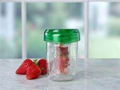 Ball®'s wide mouth mason jar infuser fits on any wide mouth mason jar, with a BPA-free hanging basket to infuse your favorite flavors into water, teas, juices and more.