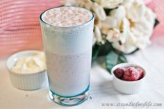 Strawberry Banana Smoothie - low Fodmap • Strands of My Life