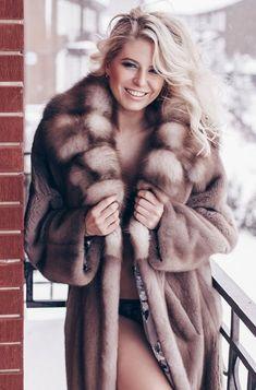Fox Fur, Mink, Fur Coat, Brown, Sexy, Jackets, Beauty, Fashion, Dressing Up