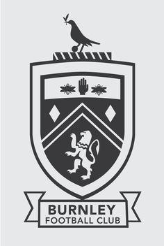 Burnley FC Crest Soccer Logo, Football Team Logos, Sports Clubs, Sports Logos, Burnley Fc, Bristol Rovers, English Football League, Bristol City, England Football
