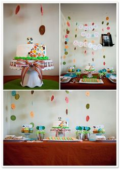 Cute as a Button Birthday Party by Amanda Donaho Photography on TheIndieTot.com