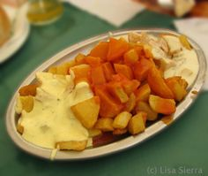 Tapas - Spanish Potatoes in Three Sauces Recipe - Patatas Tres Salsas Tapas