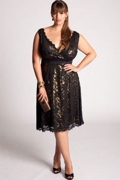 Refinery 29: Pop The Champers! We've Got Pretty Plus-Size Party Dresses And Separates - http://www.refinery29.com/plus-size-party-dresses-and-separates/slideshow#slide-12