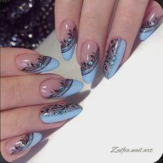 Acrylic Nail Designs, Nail Art Designs, Acrylic Nails, Nails Design, Coffin Nails, Nagellack Design, New Nail Art, Pretty Nail Art, Nail Swag