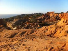 the 5 most unknown spots in san diego :) broken hill, torrey pines!