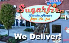 SugarFire Smoke House - St. Louis Missouri    9200 Olive Blvd.  Olivette, MO 63132    Business Hours:  11am - 9PM Daily