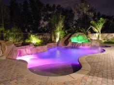 Pool Lighting Ideas   outdoortheme.com