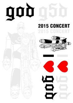 [음악관련] 스티커 STICKER (god 지오디 2015 콘서트 공식 굿즈), , 8809455930052 | YES24 상품정보