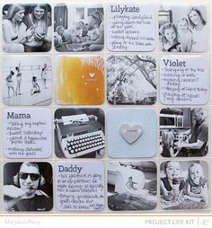 Cherish Everyday: Studio Calico Reveal & June Project Life...second part of my layout