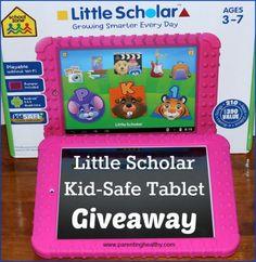 Kid-Safe Tablet Giveaway