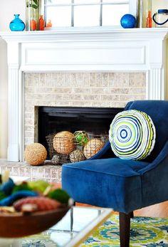 Inspiring-Ideas-to-Bring-Summer-Decor-Into-Your-HomeInspiring Ideas to Bring Summer Decor Into Your Home   See more Contemporary Lighting Ideas at http://contemporarylighting.eu