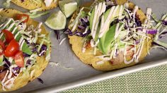Easy Fish Tostadas with Chili Lime Cream
