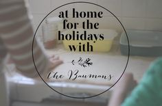 family holiday traditions via a simple slice