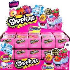 Season 4 Shopkins Series 4 Box of 30 2-Pack Mini Figures #MooseToys