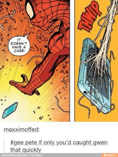 What I would be doing with Spiderman powers