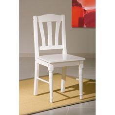 N'est-elle pas ravissante? Cette chaise est faite à base de bois massif et de MDF de très haute qualité! Le coloris blanc lui donne un aspect très élégant et...