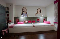 Pokój dwóch dziewczynek - zdjęcie od Laboarch Domy i Wnętrza - Pokój dziecka - Styl Nowoczesny - Laboarch Domy i Wnętrza