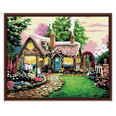 Hot Selling Frameless Wall Art Pictures DIY Painting By Numbers Oil Painting On Canvas Home Decoration Canvas Wall Art House Painting, Oil Painting On Canvas, Diy Painting, Canvas Home, Diy Canvas, Wall Canvas, Canvas Art, Wall Art Pictures, Pictures To Paint