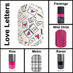 Mixed Mani options! LOVE it! #JamberryMixedMani #ValentinesDay https://jennpace.jamberry.com