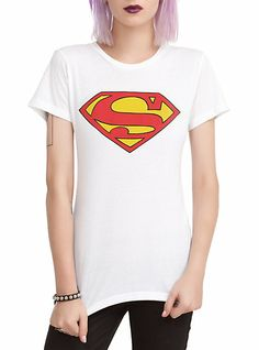 DC Comics Superman Logo Girls T-Shirt | Hot Topic